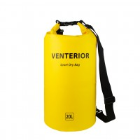 Venterior Waterproof Dry Bag 20L Backpack with Adjustable Straps - Floating Storage Bag Keeps Items Dry for Kayaking Fishing