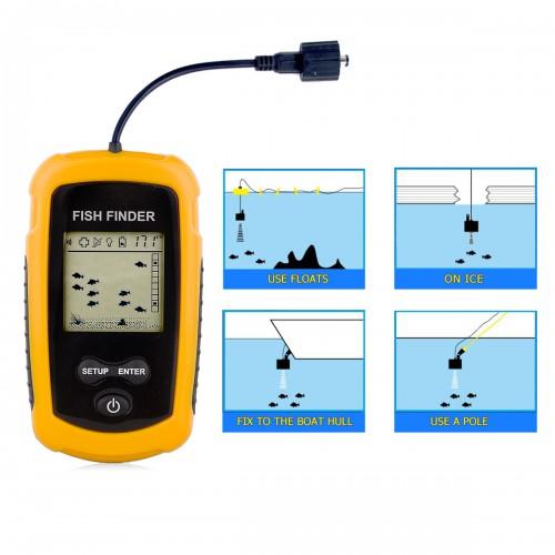 Venterior portable wired fish finder for Venterior portable fish finder