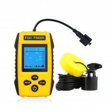 Venterior VT-FF001E Portable Fish Finder Water&Fish Depth Finder Fishing Gear for Kayak Fishing and Ice Fishing