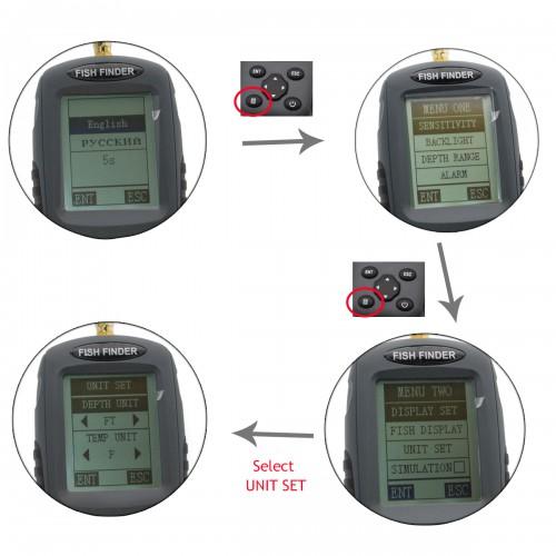Venterior wireless fish finder portable for Venterior portable fish finder