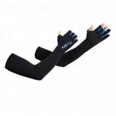 UV Protection Cooling Arm Sleeves Separate Fingers Fishing Gloves for Men or Women - for Outdoor Sports