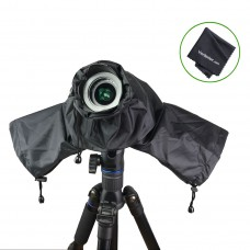 Venterior Waterproof Rain Cover Camera Protector for Canon Nikon Pentax and other DSLR Cameras